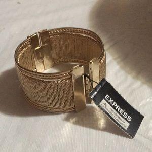 Gold Express Bangle